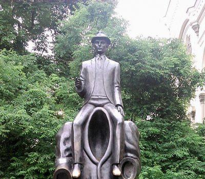 Auf Kafkas Spuren  –  Deutsche Literatur in Prag