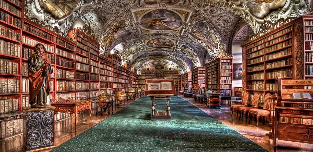 Kloster Strahov Bibliothek